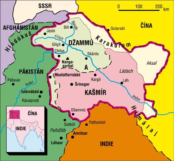 37c3b42431 Ohniska světových konfliktů - Kašmír