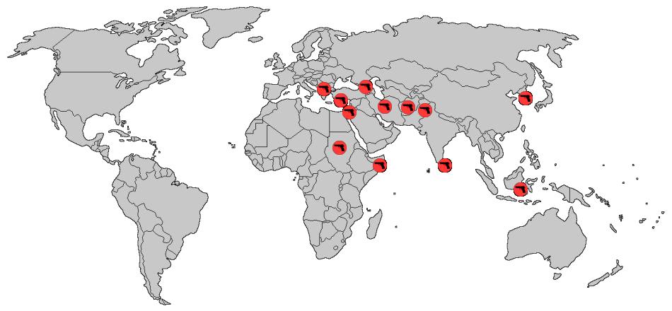 Political Gray White World Map Copy